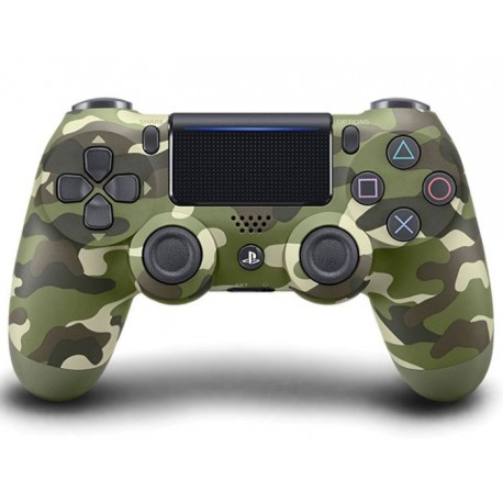 DS4 Wireless Controller for PS4 Green Camouflage New Series