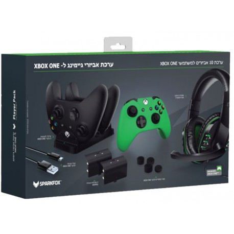Sparkfox Player Pack 10 piece Gamer Pack For Xbox One