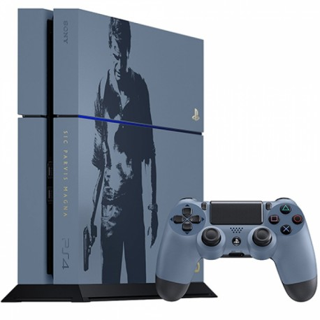 PS4 1TB Uncharted 4
