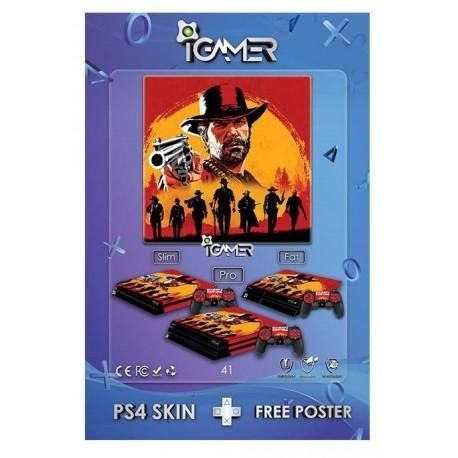 Ps4 Skin For Slim Read Dead Redemption 2 Design