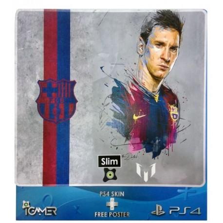 Ps4 Skin For Slim Messi Design