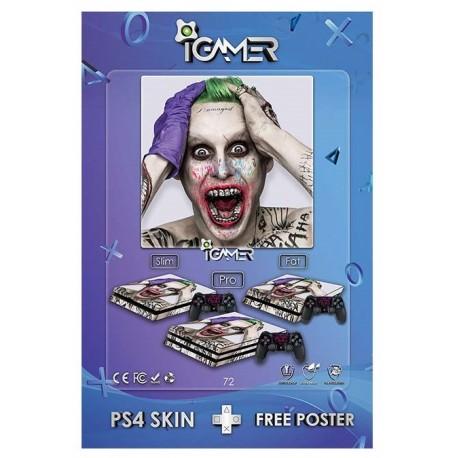Ps4 Skin For Slim Joker Design