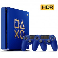 PS4 Slim 500GB Days of Play Limited Edition
