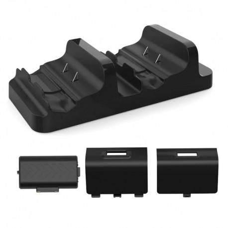 پایه شارژر دوگانه ایکس باکس / Dobe Charging Dock With Battery Pack For Xbox