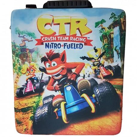 کیف ضد ضربه مخصوص PS4 - طرح Crash CTR
